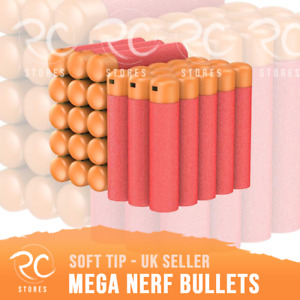 NERF Mega Bullets Darts for Nerf N-Strike Elite Mega Blasters Sniper Refill Pack