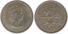 Caraibi Britannici British Caribbean Territories 50 Cents 1955 #4465A