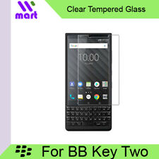 Clear Tempered Glass Screen Protector For Blackberry Key 2