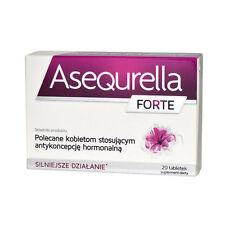 ASEQURELLA dla kobiet stosujących antykoncepcję hormonalną cellulite libido