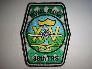 US Air Force 38th Tactical Reconnaissance Squadron ROYAL FLUSH XV Patch