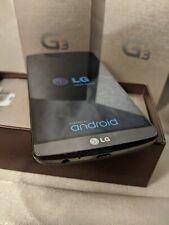 New ListingUsed Lg G3 D850, 32Gb, Black (At&T) Smartphone, with original box + accessories