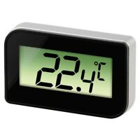 Mini Digital Fridge Refrigerator Freezer Thermometer Temperature Kitchen Black