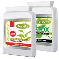 Glucomannan Légal Coupe-Faim Diète Amincissement Perte de Poids Détox Pilules
