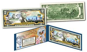 ARKANSAS Genuine Legal Tender $2 Bill USA Honoring America's 50 States