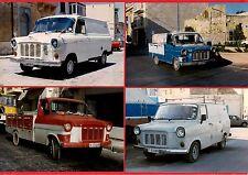 Malta Transport - 4 Ford Transit Mark 1 Vans & Pickups - Santa Marija 1996/7