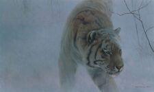"Twilight Siberian Tiger - By Robert Bateman LTD Giclee on Canvas size  20"" x 30"""