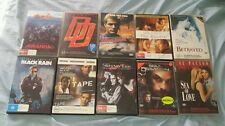 Bulk bundle job lot 10 dvds SOUL ASSASSIN, PIRANHA BLACK RAIN THE READER etc
