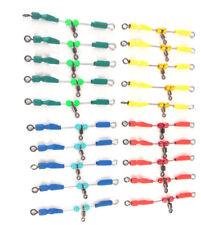 20 urfes de varilla acero inoxidable , 6 ctm,amarillo,rojo,verde, con casquillos