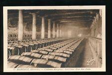 France WINE Cellar Margaux Gironde c1920/30s? PPC