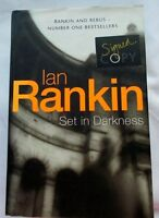 SIGNED - Ian Rankin 'Set in Darkness' 2000 1st/1st HB/DJ - Rebus