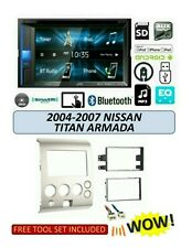 Fits 2004-07 Nissan Titan Armada STEREO KIT BLUETOOTH USB TOUCHSCREEN