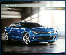Prospekt brochure 2018 Chevrolet Chevy Camaro (USA)