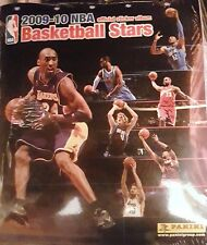 2009/10 NBA BASKETBALL STARS ALBUM & ALL THE STICKERS TO COMPLETE ALBUM NEW