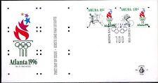 Dutch Antilles / Aruba - 1996 Olympic games - Mi. 178-79 clean unaddressed FDC