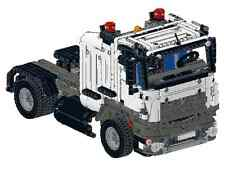Bauanleitung instruction Truck Mercedes 42043 Eigenbau Unikat Moc Lego Technic