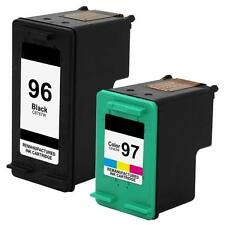2-PK For HP 96 97 Ink cartridges For OfficeJet 7410xi 7310 7310xi Printer