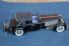 New ListingFranklin Mint 1940 Duesenberg & 1934 Packard 2 Cars Included In Auction