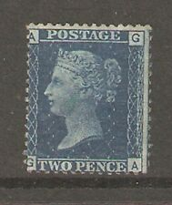 QV  SG47 2d Plate 14 Mounted Mint