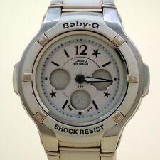 CASIO Baby-G Analog / Digtal BGA-120C white Dial [5001] W.R 10BAR works
