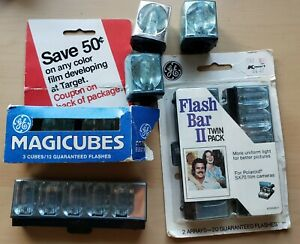 Vintage Flash cube/flash Bar Lot