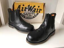 Vintage Dr. Martens FS27 Safety General 200 Joules Leather Boots Sz UK8 *England