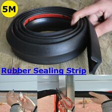 5m Garage Door Bottom Weather Stripping Rubber Seal Strip Replacement Door Seal