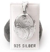 NEU 925 Silber MEDAILLON für 2 FOTOS Kettenanhänger ANHÄNGER für KETTEN Bilder
