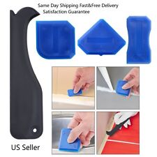 Back To Search Resultshome & Garden Glass Removal Tools Rubber Residual Scraper Negative Angle 2pcs Multi Function Plastic Shovel Blade Angle Scraper Household Cleaning
