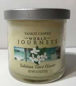 Yankee Candle Tahitian Tiare Flower Small Jar 4.3oz Candle World Journeys