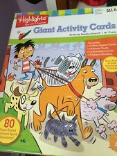 Activity Cards for 4+ ,by Highlights