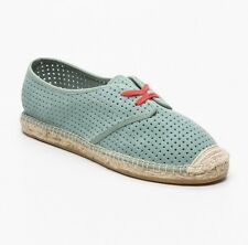 Dkny Espadrilles, Suede Blue And Coral Uk 5.5