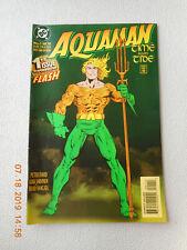 Aquaman: Time and Tide – 4 Issue Mini-Series – Dc (Dec 1993 – Mar 1994) – Vg+