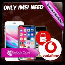 IPHONE X  8 & 8+  10 VODAFONE UK IPHONE UNLOCK SERVICE ONLY IMEI NEED UNLOCKING