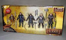 The Hobbit 5 Figure Pack Bilbo Baggins, Thorin, Kili, Fili, Dwalin Hero Set 2012