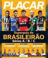 1X MAG MAGAZINE PLACAR GUIA DO BRASILEIRÃO - SUPER BRAZILIAN GUIDE 2017 PROFILES