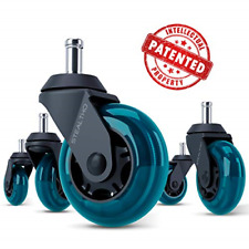 Stealtho Replacement Office Chair Caster Wheels Set Of 5 Protect Your Floor