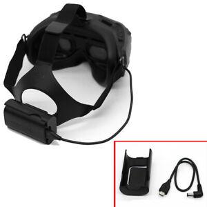 DJI FPV Goggles Power Cable + Batteriegehäuseset Ladekabel Für FPV Goggles V2