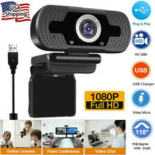 1080P Hd Webcam with Microphone Usb Camera for Pc/Mac Laptop/Desktop Video Call