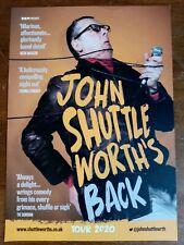 John Shuttleworth 'Back' 2020 UK Tour Large Flyer NEW