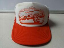 Vintage Blockbuster 1985 United Way Mesh Trucker Snapback Cap Hat Men Osfa
