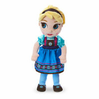 "Disney Authentic Frozen Elsa Animators Collection Plush Toy Doll 13"" H NWT"
