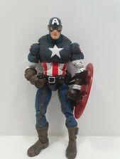 "Marvel Legends Ultimate Captain America Figure 6"" with Shield Toy Biz 2005 1/2"