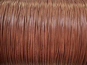 25 FT UL1007 20 AWG BROWN Hook Up Lead Primary Wire TINNED Stranded 300V