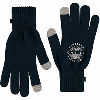 ANIMAL WOMENS GLOVES.NEW POZZA FLIP BLACK GREY KNITTED FINGERLESS MITTENS 8W 3 2