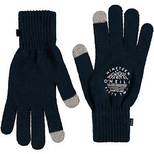 O'NEILL MENS TOUCHCREEN GLOVES.NEW MOUNTAIN KNIT BLACK WARM KNITTED 7W 310 9010