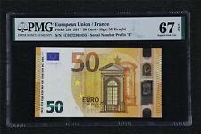 2017 European Union / France 50 Euro Pick#23e PMG 67 EPQ Superb Gem UNC