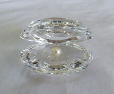 SWAROVSKI CRYSTAL SHELL FAUX PEARL 14389 FIGURINE RELEASED 200O RETIRED 2011