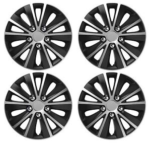 "4 x Wheel Trims Hub Caps 16"" Covers fits Vauxhall ASTRA CORSA AGILA MERIVA"