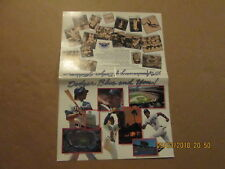 MLB Los Angeles Dodgers Vintage 1986 Team Photo & Players Photos Logo Pamphlet